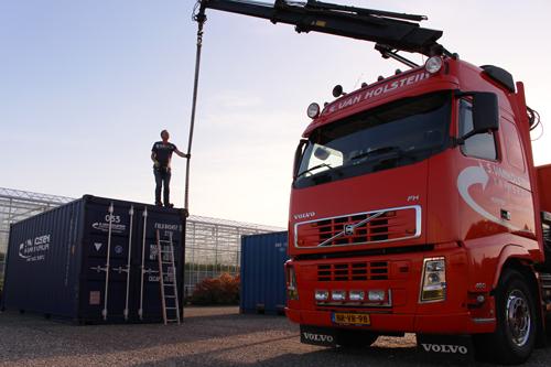 Transport van zeecontainers, opslagcontainers en verhuiscontainers door heel Nederland