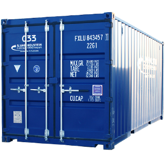 20FT Opslagcontainer
